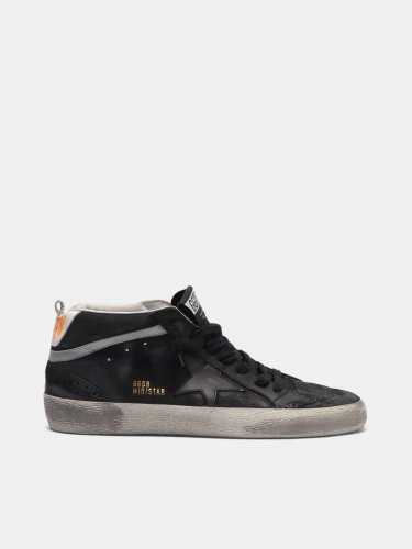 Mid Star sneakers in leather with nubuck inserts